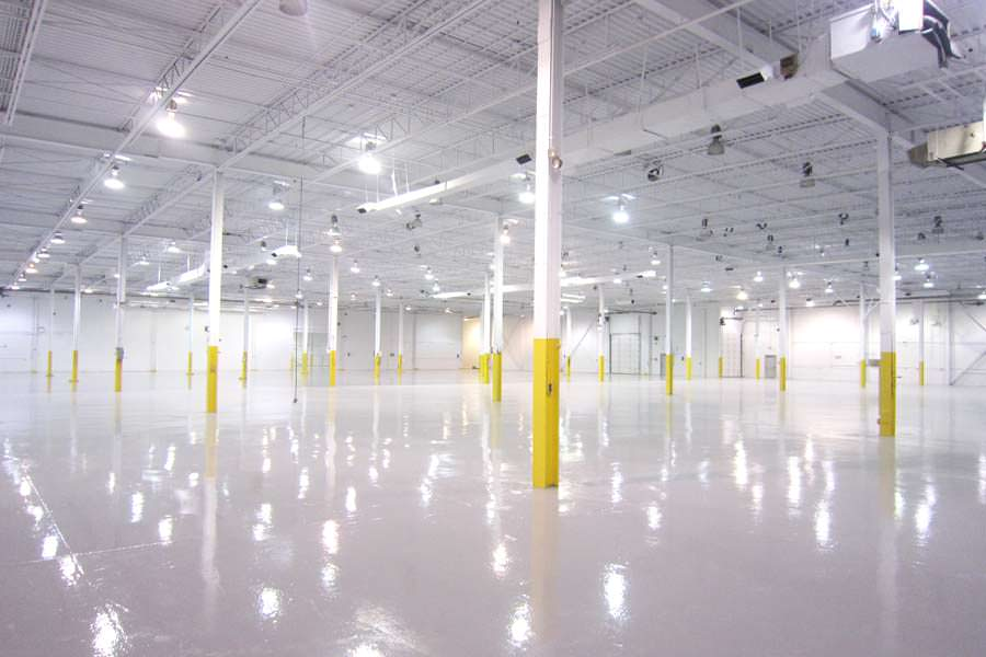 Epoxy Floor, Structure & Ceiling Project